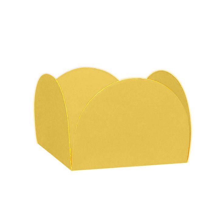 Forminha 4 Pétalas Ouro c/50 NC Toys