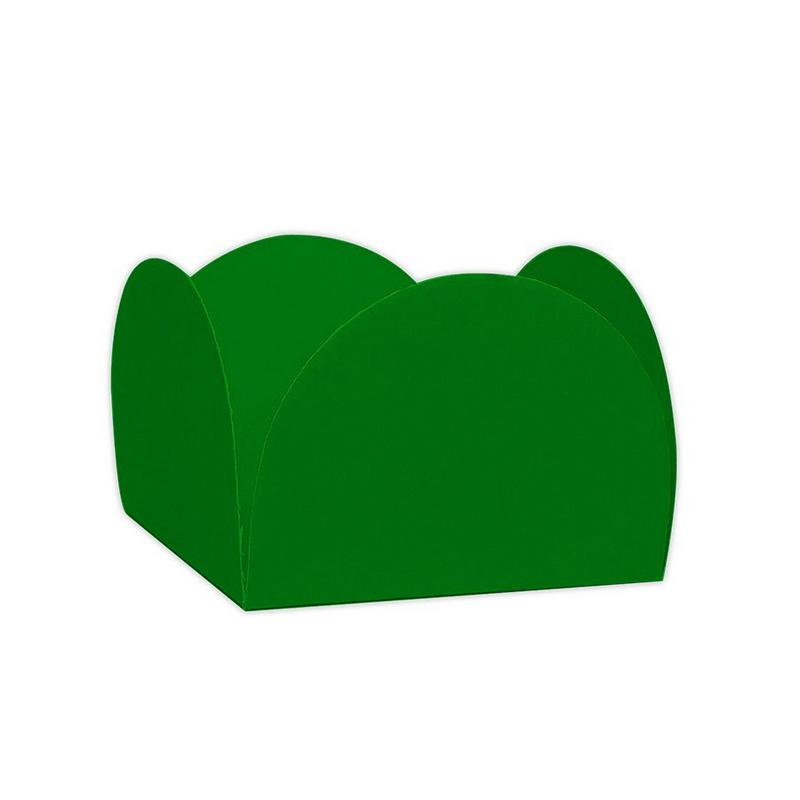 Forminha 4 Pétalas Verde Bandeira c/50 NC Toys