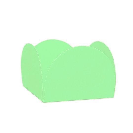 Forminha 4 Pétalas Verde Folha c/50 NC Toys