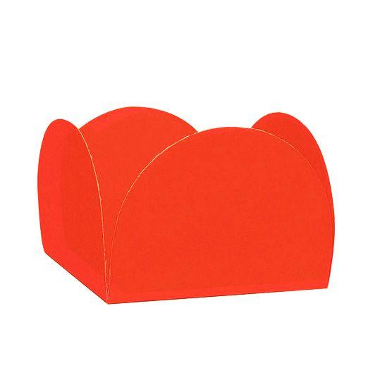 Forminha 4 Pétalas Vermelho c/50 NC Toys