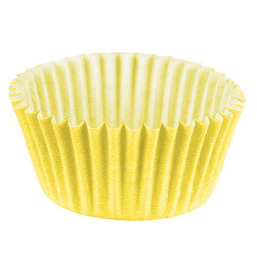 Forminha de Papel Amarelo Claro N.3 C/100 unidades Vipel