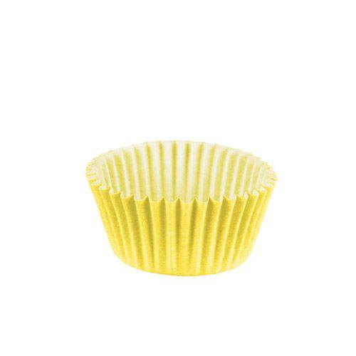 Forminha de Papel Amarelo Claro N.6 C/100 unidades Vipel