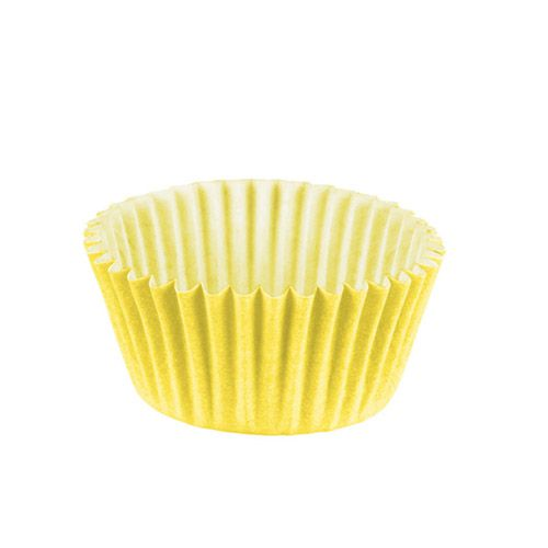Forminha de Papel Amarelo N.5 C/100 unidades Vipel