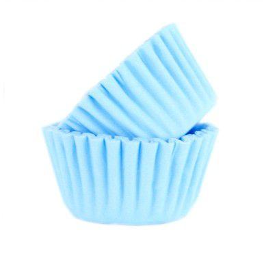 Forminha de Papel Azul Claro N.3 C/100 unid. Vipel