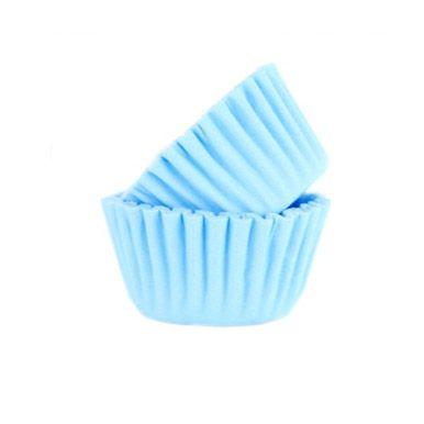 Forminha de Papel Azul Claro N.5 C/100 unid. Vipel