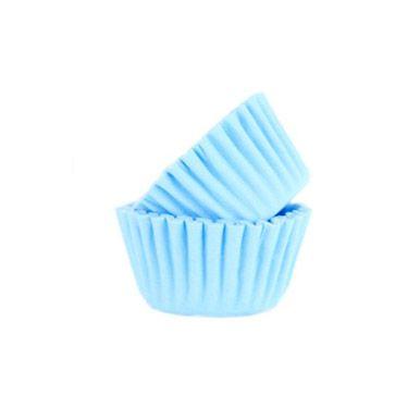 Forminha de Papel Azul Claro N.6 C/100 unid. Vipel