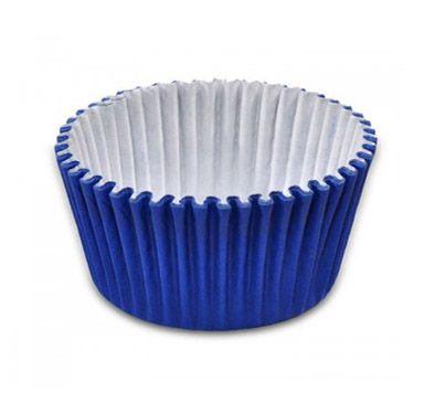 Forminha de Papel Azul Escuro N.3 C100 unid. Vipel