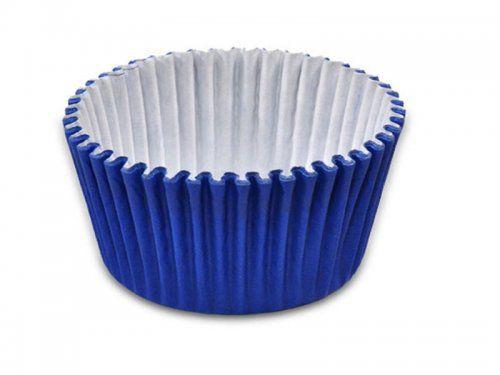 Forminha de Papel Azul Escuro N.4 C/100 unid. Vipel
