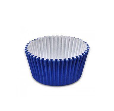 Forminha de Papel Azul Escuro N.6 C/100 unid. Vipel