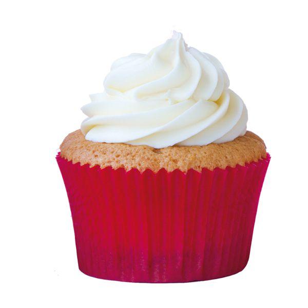 Forminha para Cupcake  Vermelha 45 unid. Mago