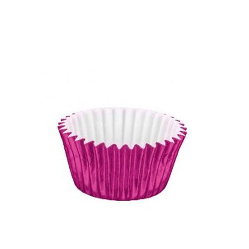 Forminha de Papel Laminado N.4 Pink C/50 unid. Vipel
