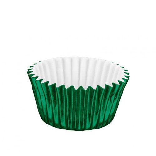 Forminha de Papel Laminado N.4 Verde C/50 unid. Vipel
