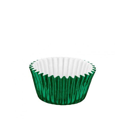 Forminha de Papel Laminado N.5 Verde C/50 unid. Vipel