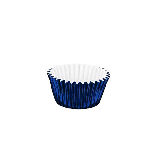 Forminha de Papel Laminado N.6 Azul C/50 unid. Vipel