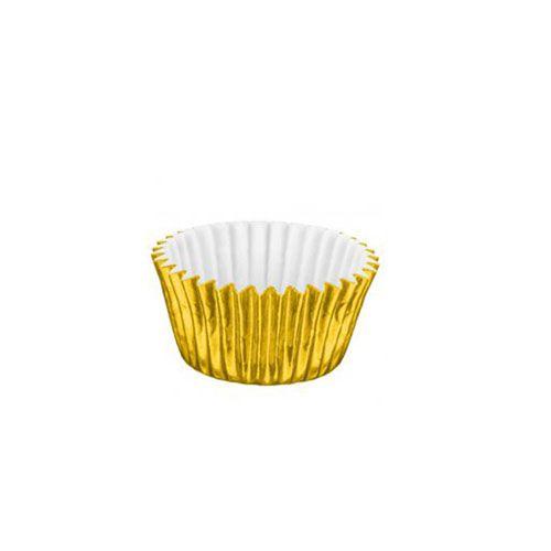 Forminha de Papel Laminado N.6 Ouro C/50 unid. Vipel