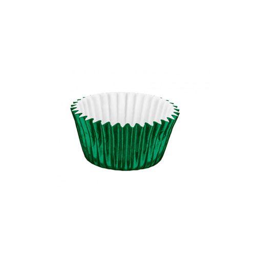Forminha de Papel Laminado N.6 Verde C/50 unid. Vipel