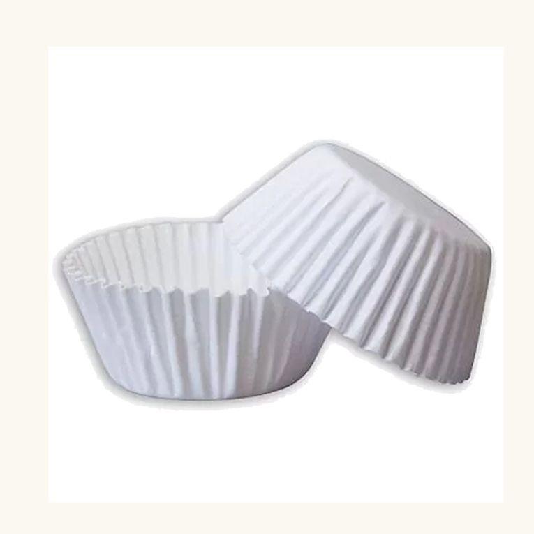 Forminha de Papel N.1 Branca C/100 unid. Vipel