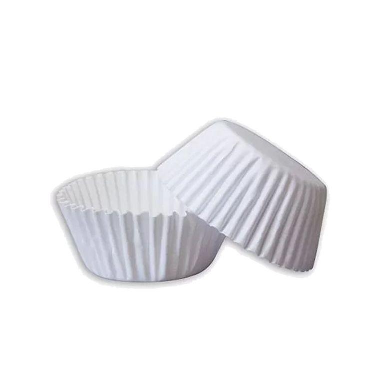Forminha de Papel N.2 Branca C/100 unidades Vipel
