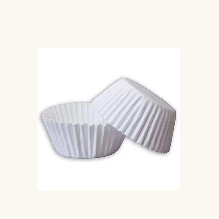 Forminha de Papel  N.3 Branca C/100 unidades Vipel