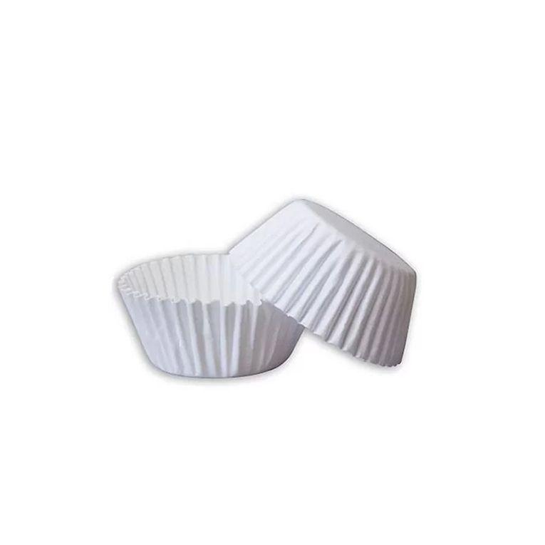 Forminha de Papel  N.4 Branca C/100 unidades Vipel