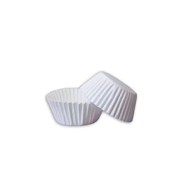 Forminha de Papel  N.5 Branca C/100 unidades Vipel