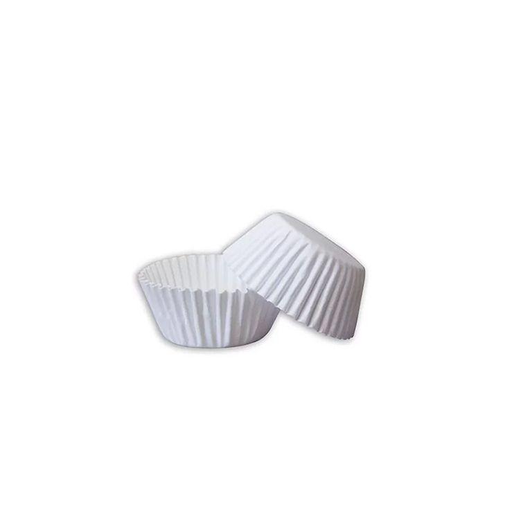 Forminha de Papel  N.6 Branca C/100 unidades Vipel