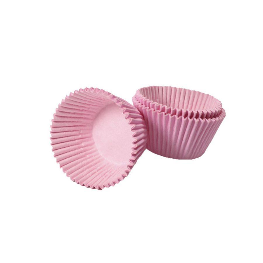 Forminha de Papel Rosa Claro N.4 C/100 unid. Vipel