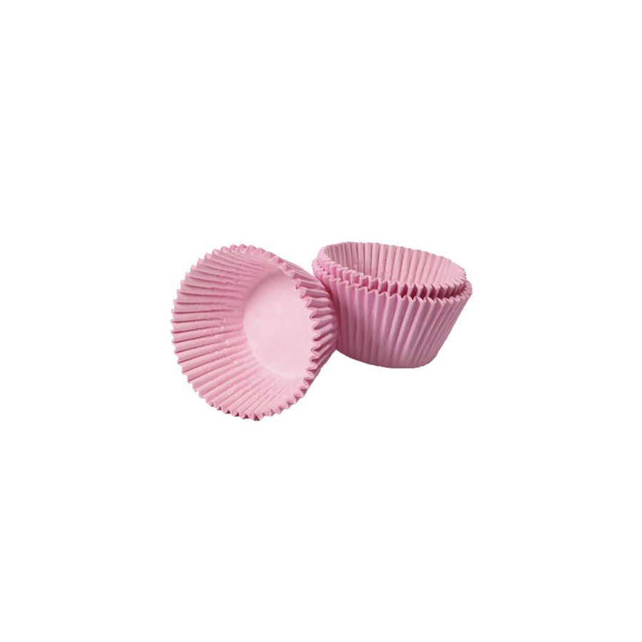 Forminha de Papel Rosa Claro N.5 C/100 unid. Vipel