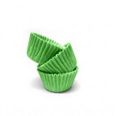 Forminha de Papel Verde Claro N.4 C/100 unid. Vipel