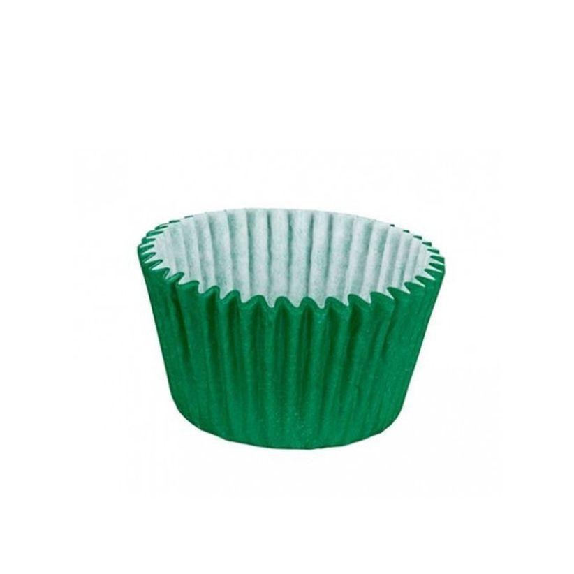 Forminha de Papel Verde Escuro N.3 C/100 unid. Vipel