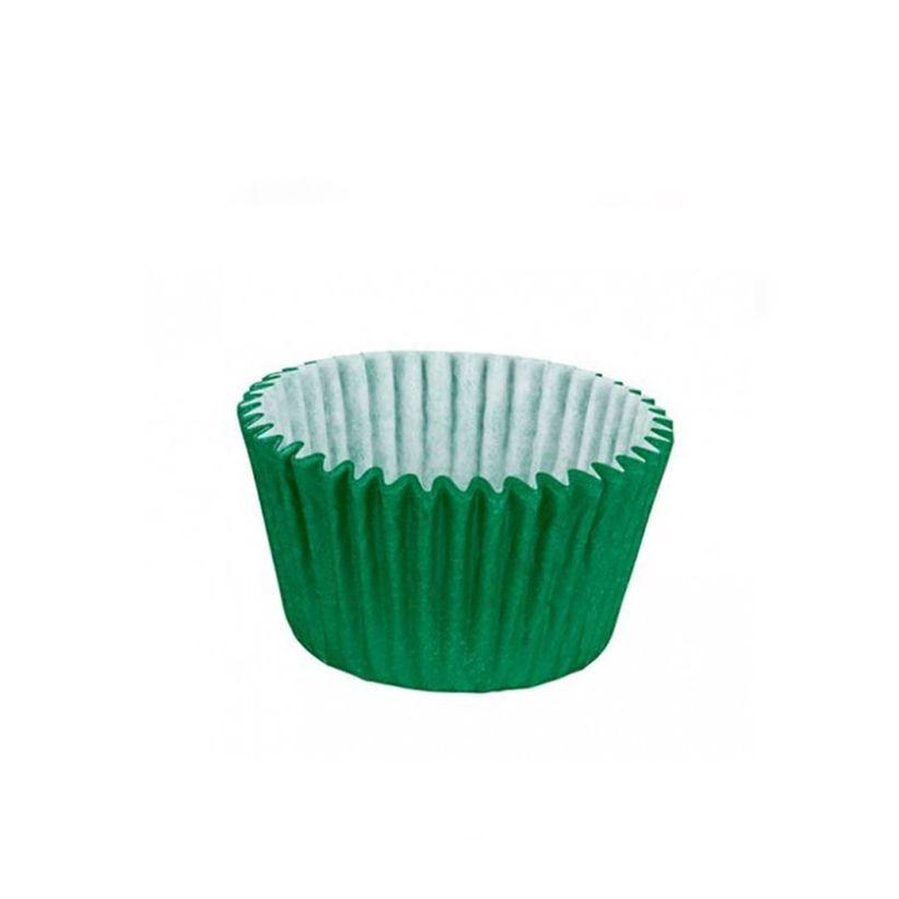 Forminha de Papel Verde Escuro N.4 C/100 unid. Vipel