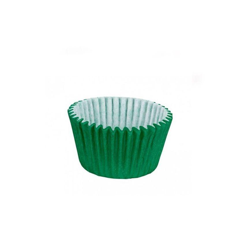 Forminha de Papel Verde Escuro N.5 C/100 unid. Vipel