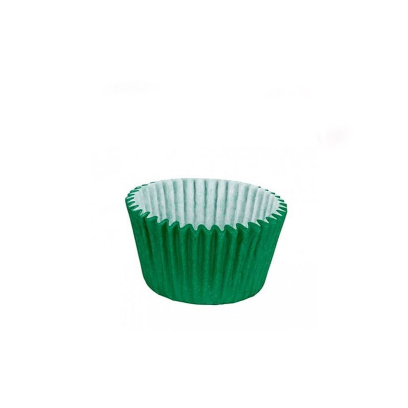 Forminha de Papel Verde Escuro N.6 C/100 unid. Vipel