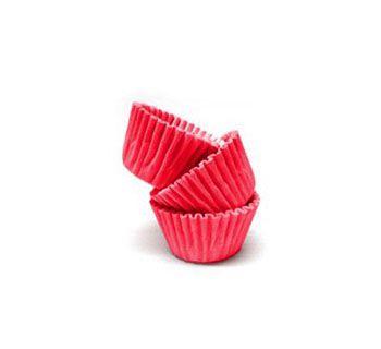 Forminha de Papel Vermelho N.5 C/100 unidades Vipel