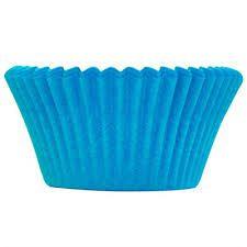 Forminha N02 Mini Cupcake 54 unid. Azul Royal Ultrafest