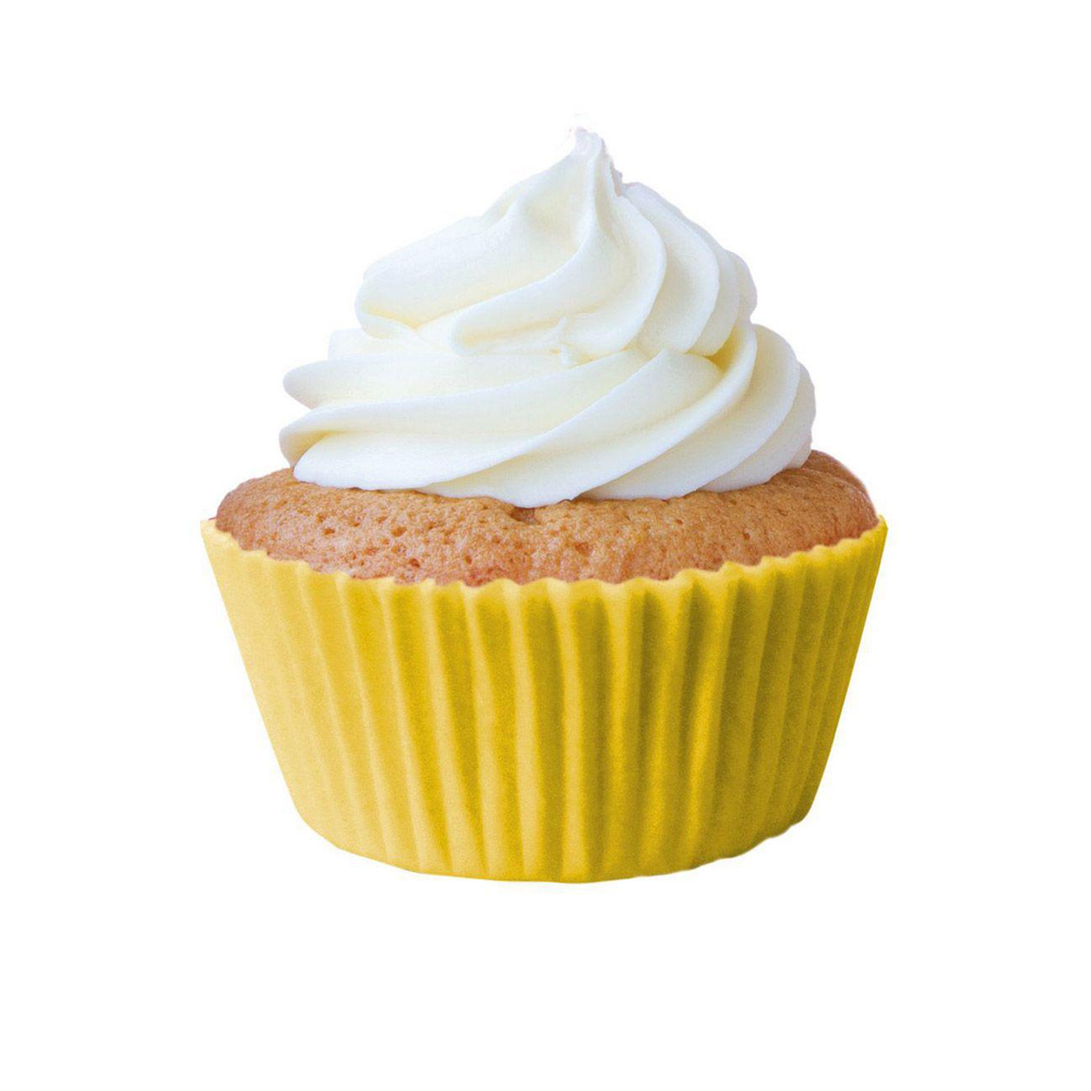 Forminha para Cupcake Amarelo c/45 unid Flip