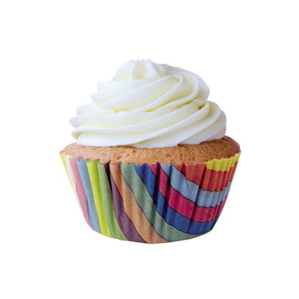 Forminha para Cupcake Arco-Íris c/45 unid Flip