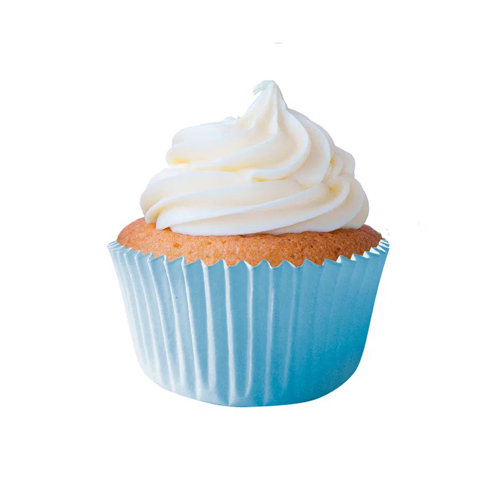 Forminha para Cupcake Azul Claro c/45 unid Flip