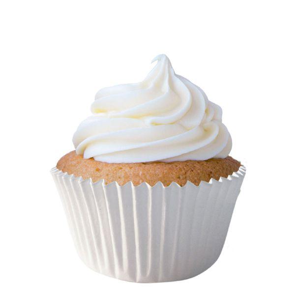 Forminha para Cupcake Branca 75 unid Mago