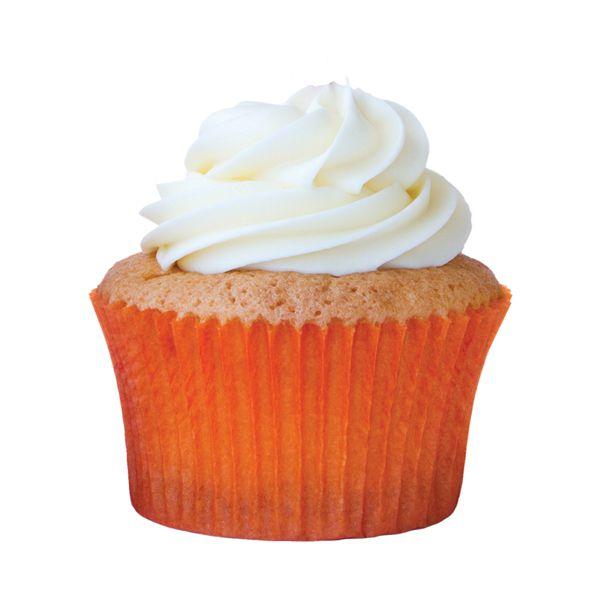 Forminha para Cupcake Laranja 45 unid Mago