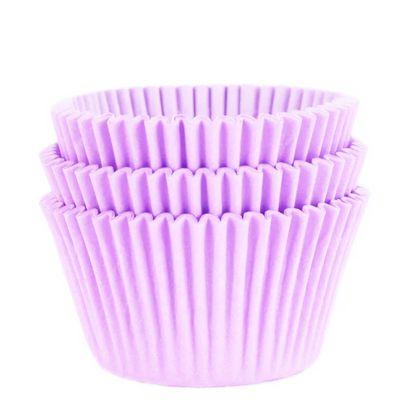 Forminha para Cupcake Lilás 45unid. Mago