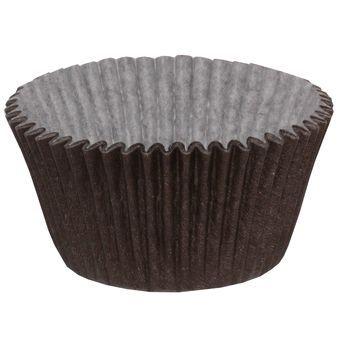 Forminha para Cupcake Marrom 45unid. Mago