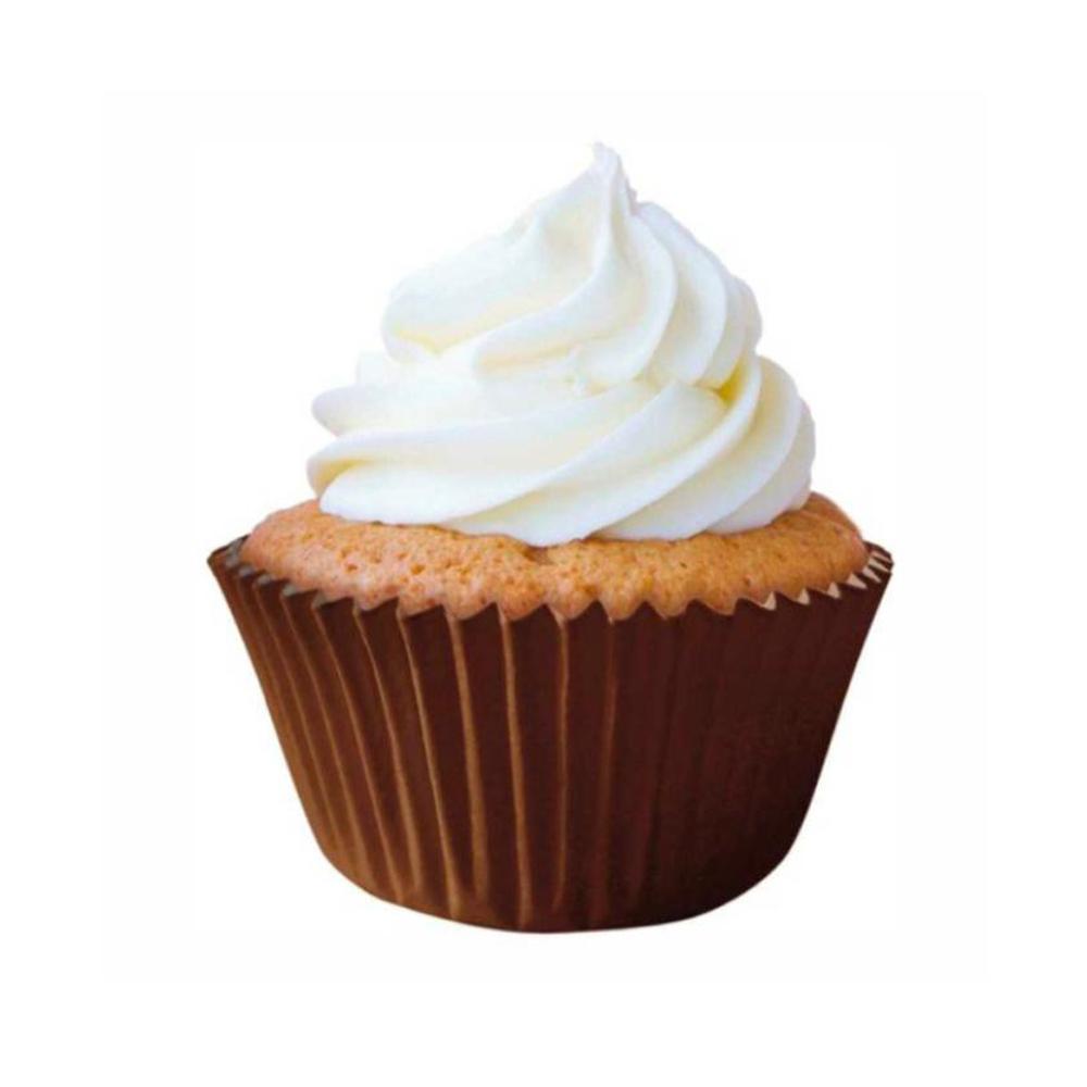 Forminha para Cupcake Marrom c/45unid Flip