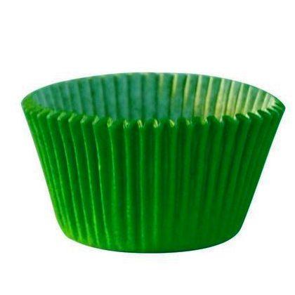 Forminha para Cupcake Verde Bandeira 45 unid. Mago