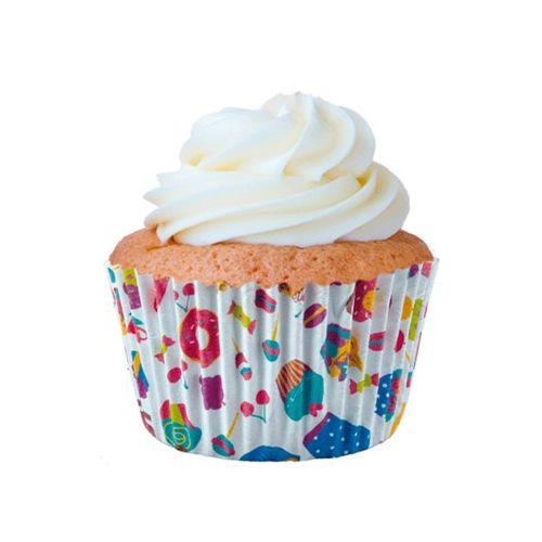 Forminha Para MIni Cupcake N.2 Bolinho 45 unid. Mago