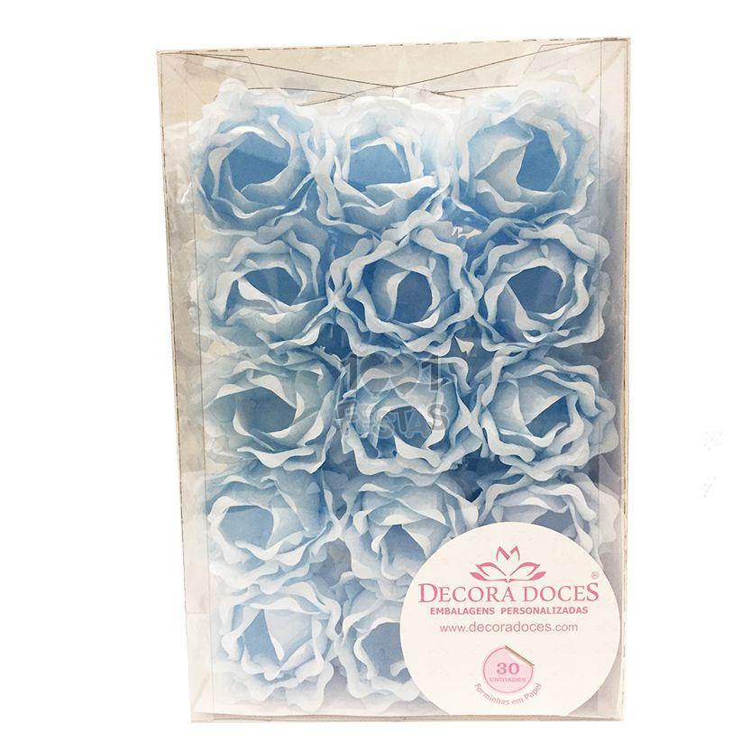 Forminha Primavera Azul Bebe c/30 Decora Doces