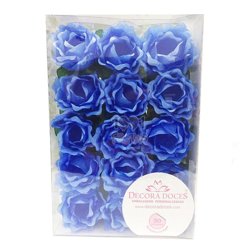 Forminha Primavera Azul Claro c/30 Decora Doces