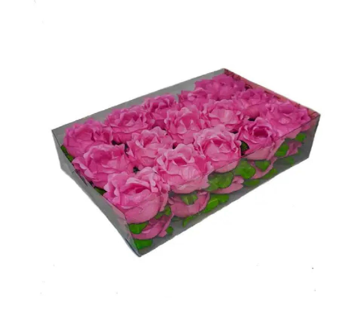 Forminha Primavera Rosa Chiclete c/30 Decora Doces