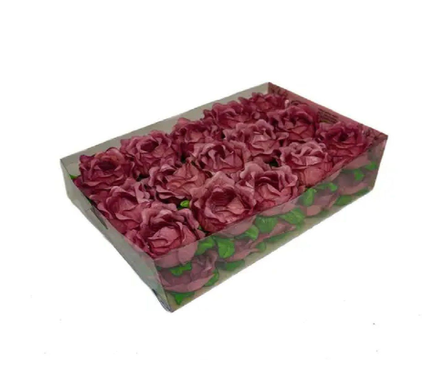 Forminha Primavera Rosa Seco c/30 Decora Doces
