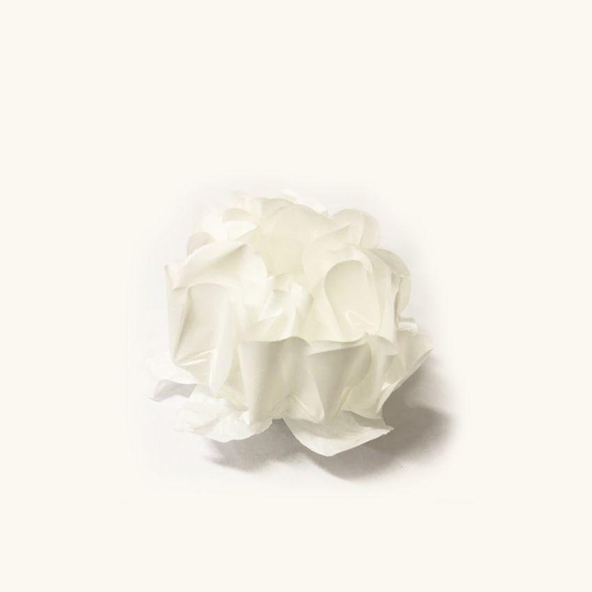 Forminha Rosa Maior Branco/Branco c/30 Decora Doces